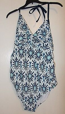 Women's Liz Lange Brand size L, XL, or XXL One Piece Maternity Swim Suit NWT