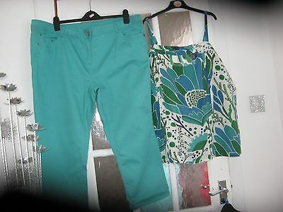 womens trousers  and top size 20