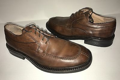 Men's Bostonian Brown Leather Shoes Size: 9 Made in Italy