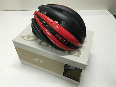 2017 Giro Synthe Mips Helmet Bright Red/matte Black Large - New In The Box!