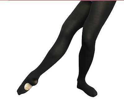 Body Wrappers A31X Black Women's Plus Size 3X/4X Convertible Tights