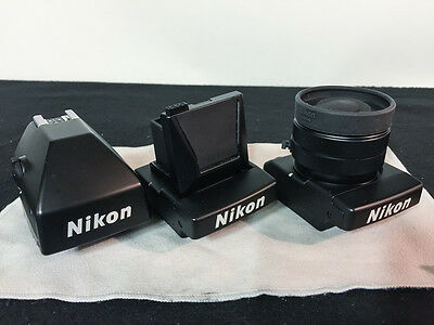 Nikon DA-20, DW-20, and DW-21 Viewfinders for F4