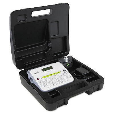 Brother P-Touch PT-D400VP Versatile Label Maker with AC Adapter and Carrying Ca
