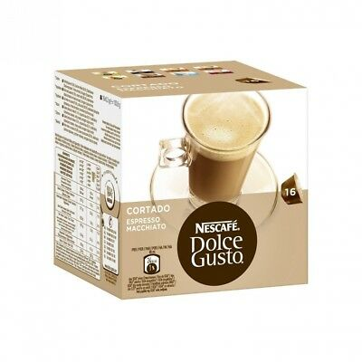 Nescafe Dolce Gusto Cortado Coffee Capsules. Nescafé. Shipping Included
