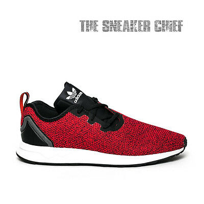 timeless design 943d5 2e4ac Adidas Zx Flux Adv Asym Men s Casual Shoes Red White Black S80544