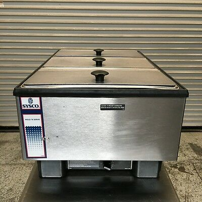 Hold & Serve Countertop Food Warmer Sysco #6431 Commercial Warming Display NSF
