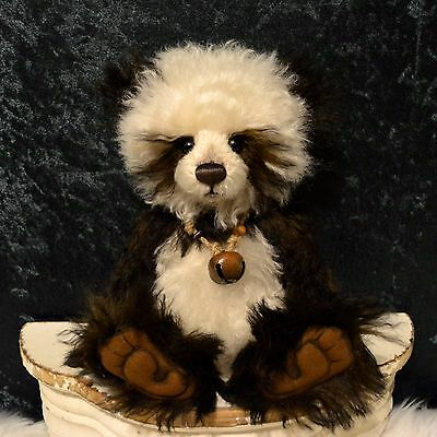 Charlie Bear Mohair Isabelle Chocolate Muffin Anniversary