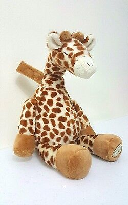 Baby Sleep Aid Sound Soother Gentle Giraffe Crib Plush 4 Different Sounds