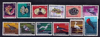 Cocos Islands 1969 Local Animals  SC#8-19 Complete MNH Set