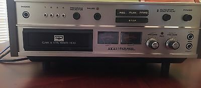 AKAI GXR-82D 8 Track Player and Recorder- W/ 6 (8 Track Tapes) Work Great!