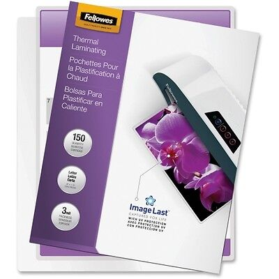NEW Fellowes 5200509 3mil Glossy Laminating Pouches Pouch ImageLast 150 Letter