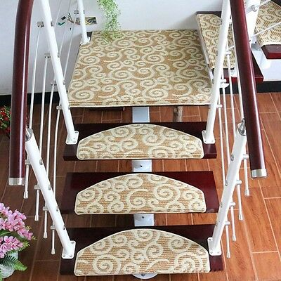 Hot Stair Mat Step Rug Washable Indoor Home Decoration Mat Runner Carpet 1PC