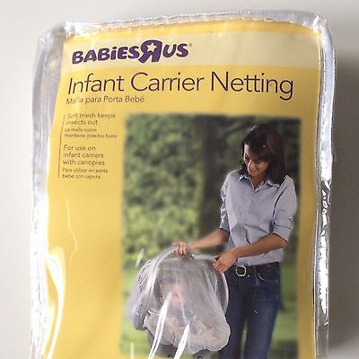 Babies R Us Infant Netting Carrier Car Seat Soft Mesh Baby Mosquito Insect Net