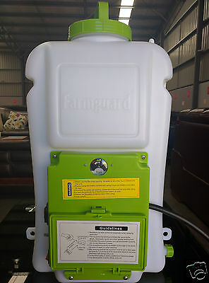 NEW 16L RECHAREABLE Backpack Weed Sprayer Garden Farm Pressure Chemical Spray XY