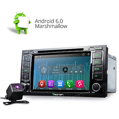 Car DVD WIFI GPS Navigation System InDash Player Android 6.0 For VW Volkswagen W