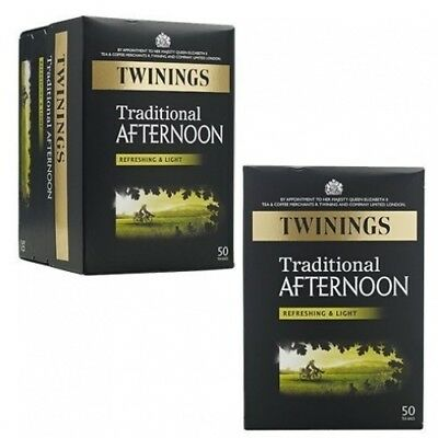 Twinings Traditional Afternoon Tea 50bag - CLF-TWN-F07620 by Twinings