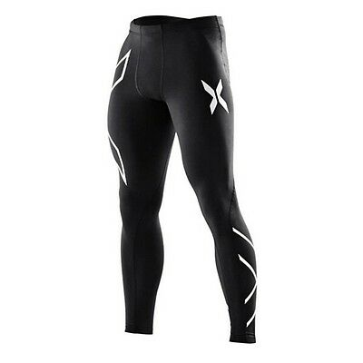 2XU Mens compression tights/skins running pants, sports. free postage
