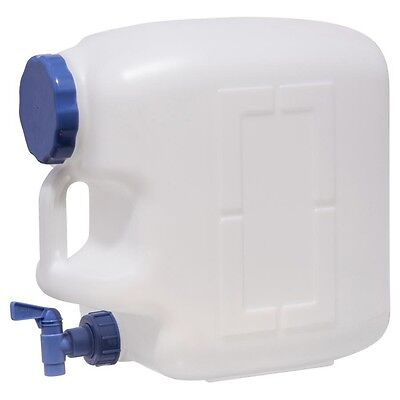 Water Container Plastic 23L Camping Storage Outdoor Jug Portable clear