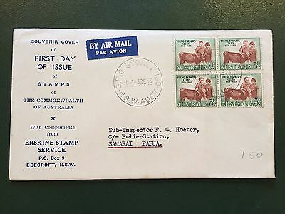 Official First Day Cover Of Stamps Of The Commonwealth Of Australia RARE