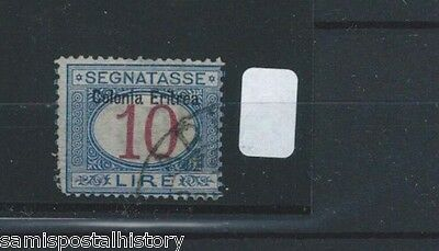 Italian Colonies Eritrea J11 high catalog postage due stamp - see scans