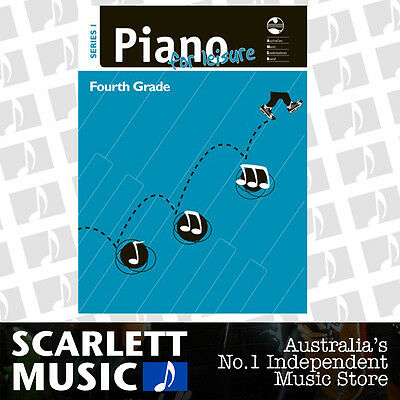 AMEB - Piano for Leisure - Series 1 - Grade 4 ( Four / Fourth ) *BRAND NEW*