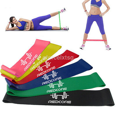 Fashion Resistance Loop Bands Mini Band Exercise Crossfit Strength Fitness GYM
