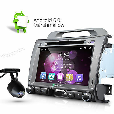 Dashcam TFT Android 6.0 Car DVD Player Stereo GPS Navi System W for Kia Sportage