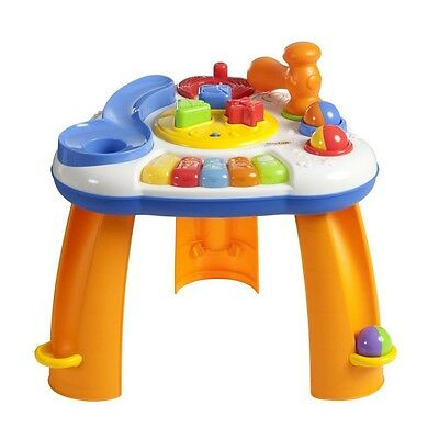 Musical Table Baby Toy Toddler Music Kids Learn Play Table Learning Musical Play