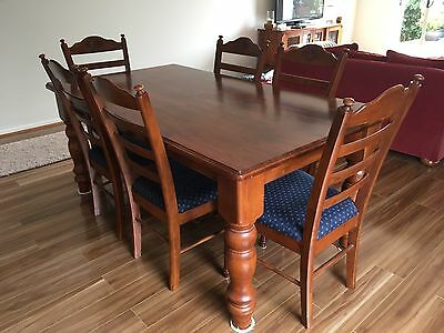 Dining table and Chairs (1785mm X 975mm)