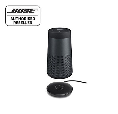 Bose Soundlink Revolve Bluetooth Speaker 360º, BLACK - WITH CHARGING CRADLE