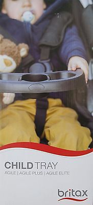 Britax Child Tray With Cup Holder For Agile, Agile Plus, Agile Elite Strollers