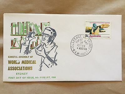 General Assembly Of World Medical Association 1968 First Day Cover FDC