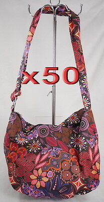 50pc Wholesale Large Long Canvas Crossbody Bag Women Girls Bag Clearance Sale