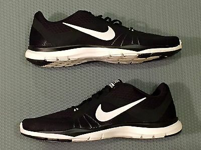 NEW NIKE Flex Trainer 6 Black White Tennis Running Shoe Sneaker Women's Size 9