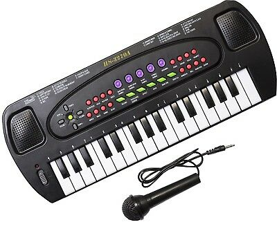 Kids Music Lovers Loads Preloaded Tunes Electronic Keyboard With Microphone 40cm