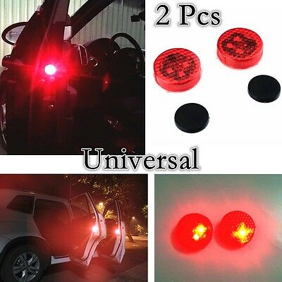 Autos Car LED Warning door Opened Avoid  Crash Wireless Flash Light  Indicator