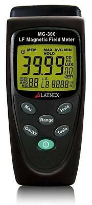 Latnex MG 300 Gauss and Magnetic Field Meter Measures EMF Radiation from...