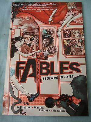 Fables vol 1 by Bill Willingham. Vertigo Graphic Novel