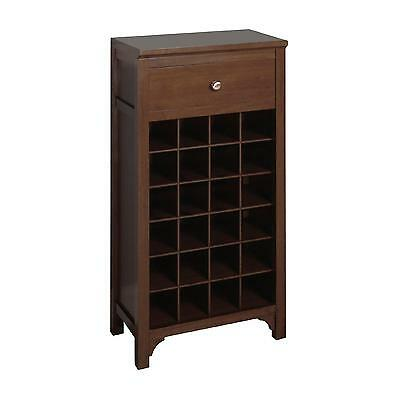 Winsome Wood Wine Cabinet, Walnut