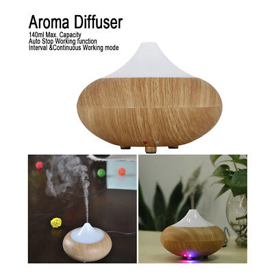 LED Ätherisches Aroma Diffuser Ultraschall Luftbefeuchter Raumduft  Humidifier