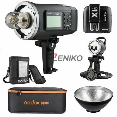 Godox AD600BM HSS Manual Flash + X1T-C + AD-H600B Flash Head + PB-600 Bag +Case