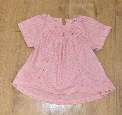 w, Pink  Summer Top  for 9-12 months old baby girl from Next