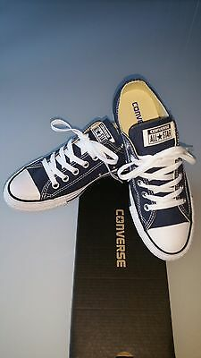 Converse All Star Basse Bleu Marine Authentiques Et Neuves Pointure 39