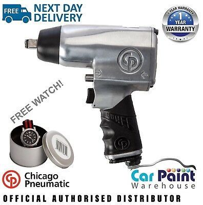 """Chicago Pneumatic CP734H 1/2"""" Drive Impact Wrench -New CP 734H + FREE POLO!"""