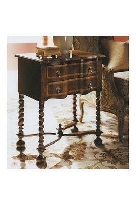 William & Mary Walnut Lowboy Chest of drawers Antique Reproduction New 3041-46