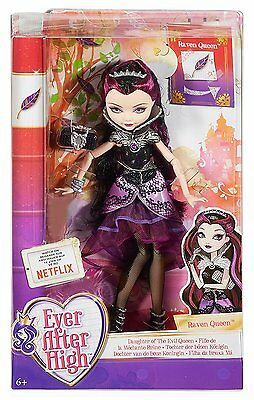 Ever After High Dolls - First Chapter - Raven Queen - BBD42 - New