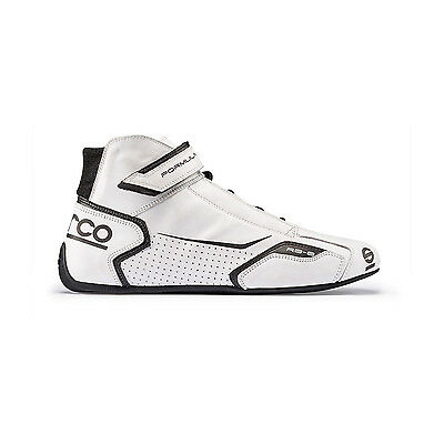 Neu Sparco FORMULA RB-8 White Racing Schuhe (FIA) (42 (8 UK) (8,5 US))