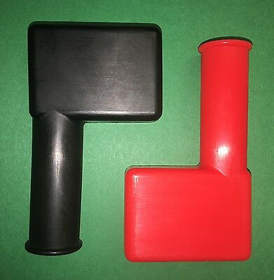 2 each Red&Black Boots , Battery Terminal ; M939 Hummer ; 2530010894992 12290948