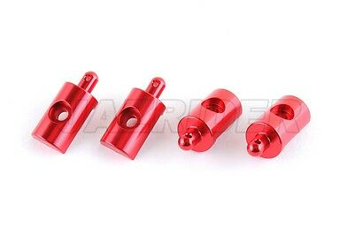 Jazrider Aluminum Body Mount (Red)For Tamiya RC CW01 Lunch Box/58347/58546/58575