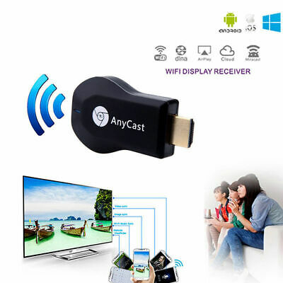 1080P Full-HD HDMI Dongle TV Stick DLNA Wireless Chromecast Airplay WiFi